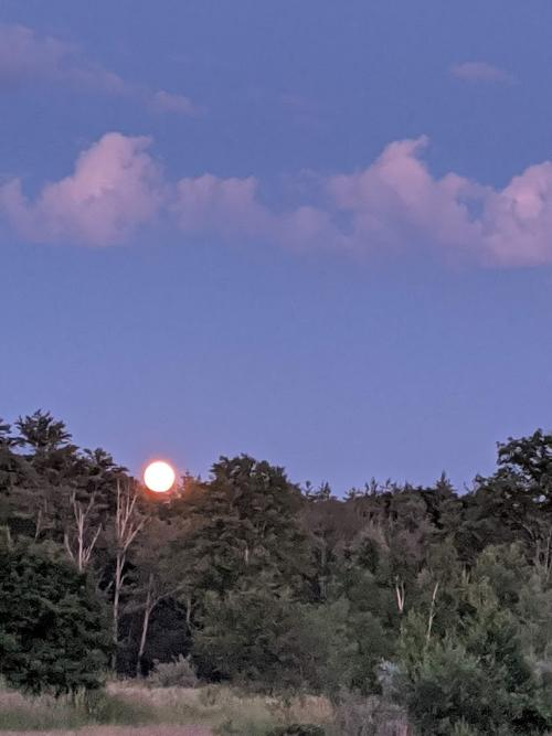 Full Moon in New Hampshire